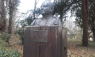 Warington Baden-Powell - Monument to Warington Baden-Powell at Gilwell Park, the Scout Association's national headquarters in Essex.