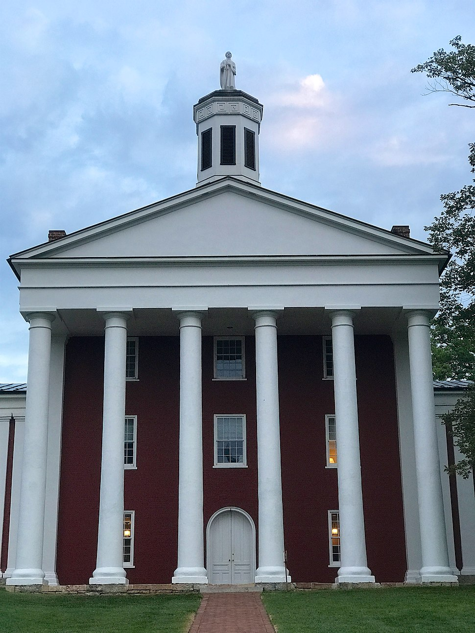 Washington Hall, Washington and Lee University, Lexington, VA