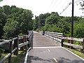 Washington Secondary Trail bridge over South Branch, Pawtuxet River, Coventry, Rhode Island.JPG