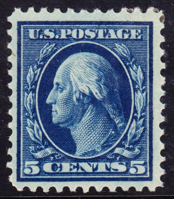 Washington-Franklin Issue of 1917, 5c