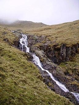 Waterfall, Buscoe Sike - geograph.org.uk - 365126