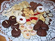 Deutsche Weihnachtsplätzchen.Weihnachtsgebäck Wikipedia