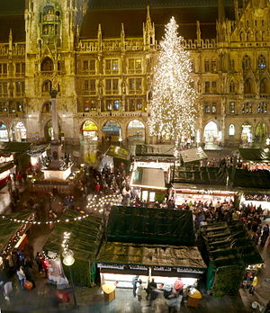 Christmas market at Munich
