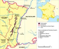 Weinbauregion Elsass