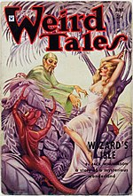 Weird Tales cover image for June 1934