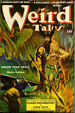 Weird Tales cover image for March 1943