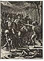 Wenceslas Hollar - Nisus slaying Volscens (State 2) 2.jpg