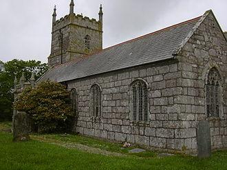 Wendron - Image: Wendron Parish Church