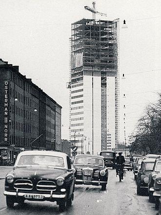 Axel Wenner-Gren - Wenner-Gren Center, Stockholm, 1960
