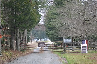 Werowocomoco - Entrance to the Werowocomoco site