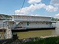 Wesselényi floating boathouse (1930s), 2017 Margaret Island.jpg