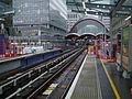 West India Quay DLR stn look south2.JPG