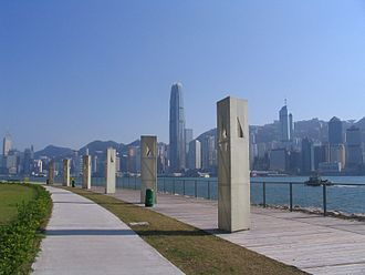 West Kowloon Cultural District - West Kowloon Waterfront Promenade (Closed)