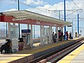 West at North Temple Bridge Guadalupe platform, Aug 15.jpg