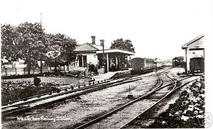 Westerham railway station - Wikipedia, the free encyclopedia