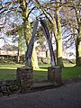 Whale's Jawbone Arch in the grounds of Blyth Jex School - geograph.org.uk - 166094.jpg