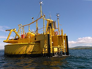 Single buoy mooring - Single point mooring at Whiddy Island, Ireland