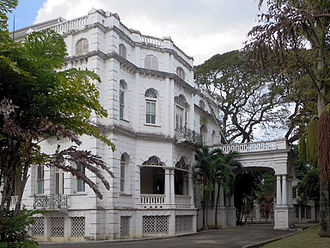 Politics of Trinidad and Tobago - Whitehall, the official office of the Trinidad and Tobago Prime Minister