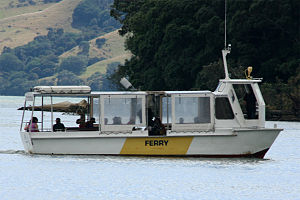 Whitianga - Whitianga Ferry, which crosses to Ferry Landing