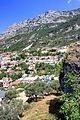 Widok z zamku na miasto Kruja 3.jpg