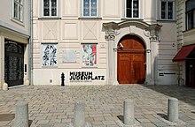 Misrachi Haus, Eingang Des Jüdischen Museums Am Judenplatz