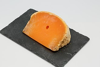 Types of cheese - Mimolette, a hard cheese from France