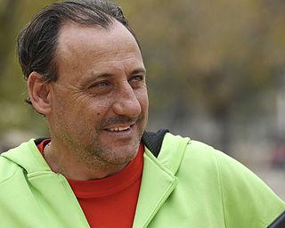 Fermín Cacho Spanish athlete