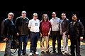 Wikimania 2009 - Richard Stallman en el teatro Alvear con asistentes (12).jpg