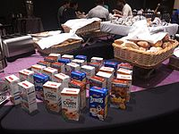Wikimania 2015-Thursday-Food for hungry Hackathon people (7).jpg