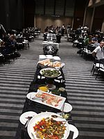 Wikimania 2015-Wednesday-Food at lunchtime (7).jpg
