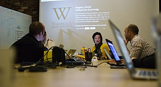 Stop Online Piracy Act - Image: Wikimedia Foundation SOPA War Room Meeting 1 17 2012 1 9