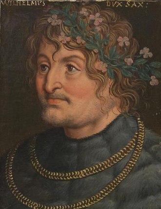 William III, Landgrave of Thuringia - Wilhelm III of Thuringia by Anton Boys