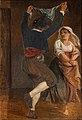Wilhelm Marstrand, Dansende italiener, ca. 1839, 0102NMK, Nivaagaards Malerisamling.jpg