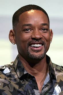 Actor Will Smith at the 2016 San Diego Comic-Con International.