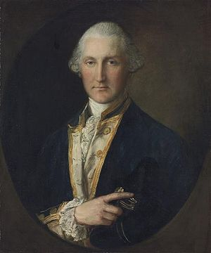 Lord William Campbell - portrait by Thomas Gainsborough