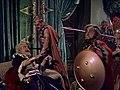 William Farnum, Harry Woods, and Moroni Olsen in Samson and Delilah trailer.jpg