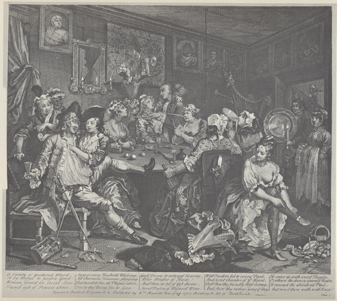 File:William Hogarth - A Rake's Progress, Plate 3 (Alt).png