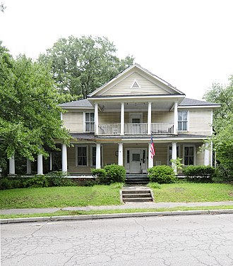 Cayce, South Carolina - The William J. Cayce house, built in 1917.
