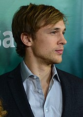William Moseley looking away from the camera.