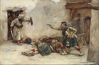 William Skeoch Cumming - Incident during the Second Anglo-Afghan War