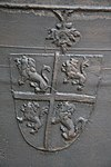 wilnis, koningin julianastraat 23, nh kerk, klok, detail wapen brederode -img0227
