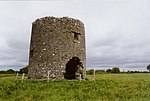 Windmill ruin at Cloghan Beg, Co. Offaly - geograph.org.uk - 644721.jpg
