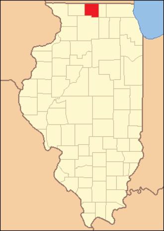 Winnebago County, Illinois - Image: Winnebago County Illinois 1837