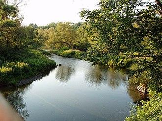 Montpelier, Vermont - Winooski River at Montpelier