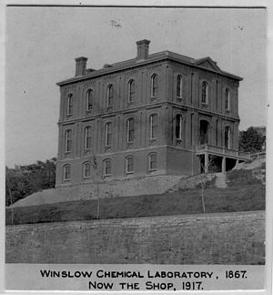 Winslow Chemical Laboratory - Image: Winslow intact 72