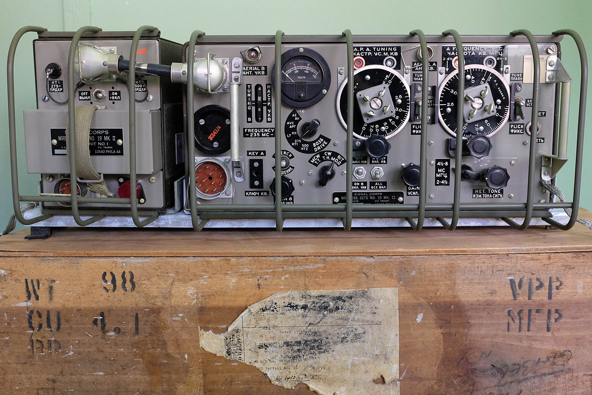 Wireless Set No 19 Wikipedia Fm Transmitter Circuit Schematic And Board Bbg 1 2 Watt Vhf