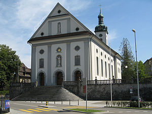 Wohlen, Aargau - Parish church of Wohlen