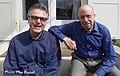 Wolfgang Bleibel mit Martial Solal (Paris, Mai 2013).jpg