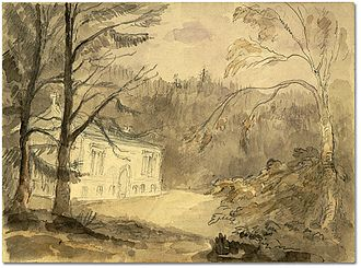 Wolford Chapel - Wolford Chapel sketched by Elizabeth Simcoe