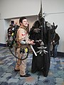 WonderCon 2012 - Ghostbuster and Witch King from Lord of the Rings (6873357206).jpg